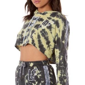 New! LF cropped Tuesday-dye tie me up NWT